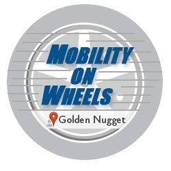 Logo for Golden Nugget Atlantic City Mobility On Wheels